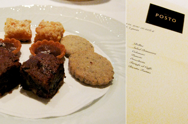 Dinner at Del Posto — Sweets to soften the blow