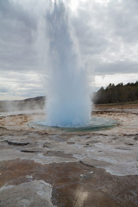 Strokkur Eruption at Geysir