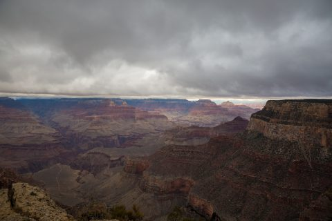 Maricopa Point, Hermit's Road, Grand Canyon National Park