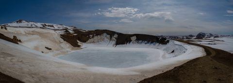 Krafla Viti Crater, Iceland, May 2016