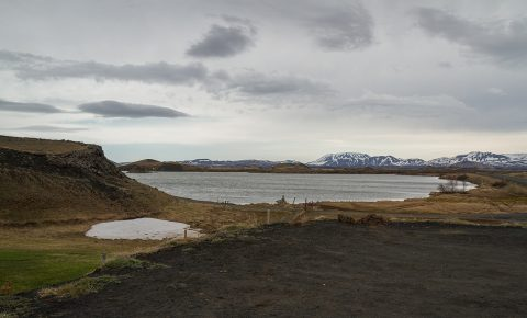 Lake Mývatn Pseudo Craters