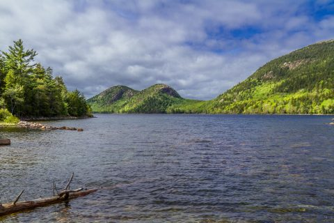 The Bubbles at Jordan Pond, Acadia National Park