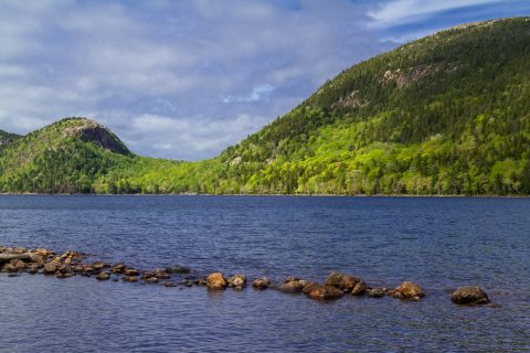 Jordan Pond, Acadia National Park